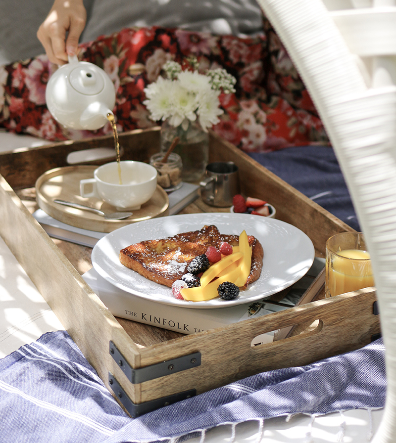 Create the perfect Breakfast In Bed spread this Mother's Day.