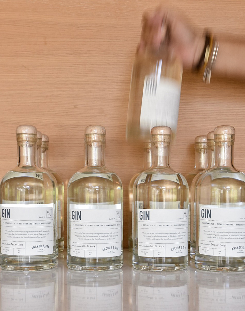 Unveiling of the A&D Gin